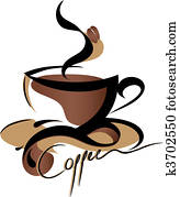 bohnenkaffee, zeichen
