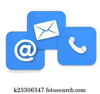 Contact Us Icon Design