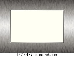 matal silver picture frame