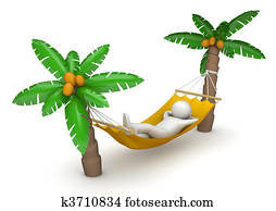 Lifestyle collection - Lying in hammock