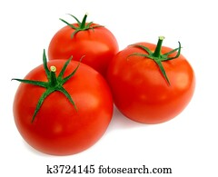 Fresh tomato isolated