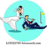 Get married to Golfer