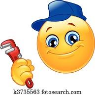 Plumber emoticon