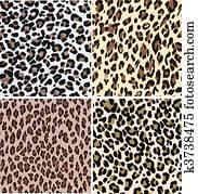 seamless animal leopard print