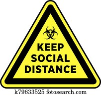 Social Distancing Signage or Floor Sticker.