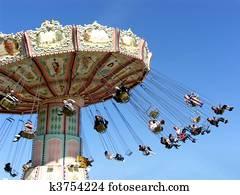 Chairoplane carousel