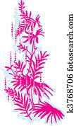 Floral palma