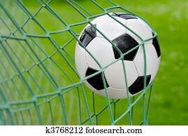 Soccer goal!