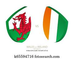 Wales vs Ireland, 2019 Rugby Six Nations Championship, round 5