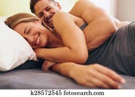 Husband Wife Sleeping Stock Photo Images 4430 Husband Wife