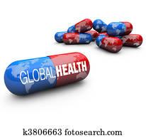Global Health Care - Capsule Pills