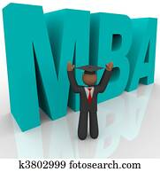 Mba - Letters and Business Man