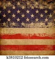 Grunge american patriotic theme background.