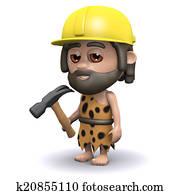 3d Caveman builder