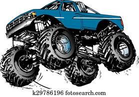 monstor truck