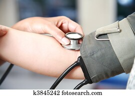 blood pressure check up