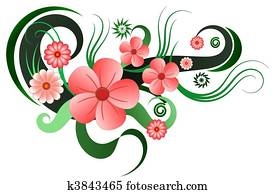 Hibiscus Floral Decoration
