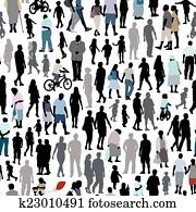 People pattern