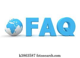 World FAQ Blue