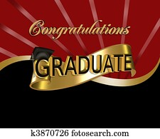 Congratulations Graduate graphic