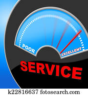 Customer Service Represents Perfection Surpass And Services