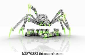 cyborg spider