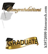 Graduation congratulations clip art