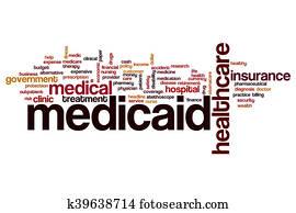 Medicaid word cloud