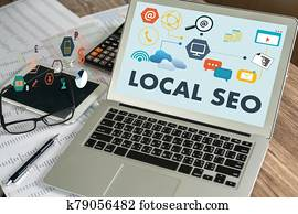analysis businessman LOCAL SEO PROCESSES work LOCAL SEO