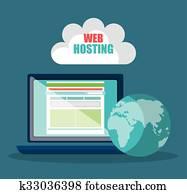 website, design, und, hosting