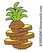 Pineapple Clip Art Vectors | Our Top 1000+ Pineapple EPS ...