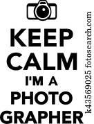 behalten, gelassen, ich bin, a, fotograaf