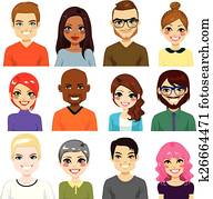 Diverse Avatar Collection