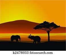 natur, afrikas