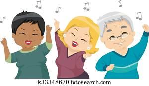 Seniors Dance Party