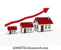 Growing housing market