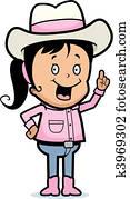 Cowgirl Idea