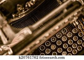 Ghost Writer Typewriter