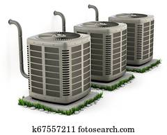 Heating and air conditioner units