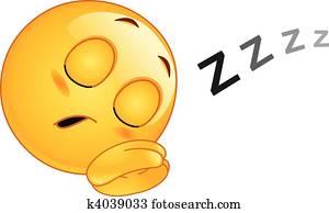 eingeschlafen, emoticon