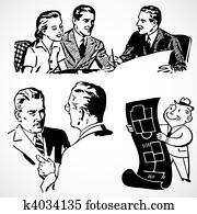 Vector Vintage Financial Advisors