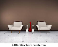Brown interior
