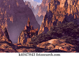 Castle in Deep Canyon