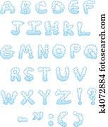 Cloud letters