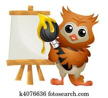 Owl Painter