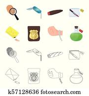 Free Evidence Bag Clipart in AI, SVG, EPS or PSD