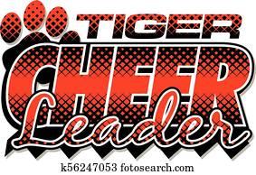 tiger cheerleader