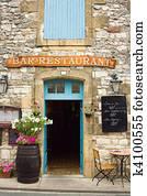 Restaurant in the Dordogne region of France