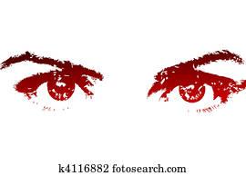 Beautifull red eyes