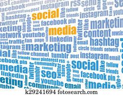 social media tagcloud
